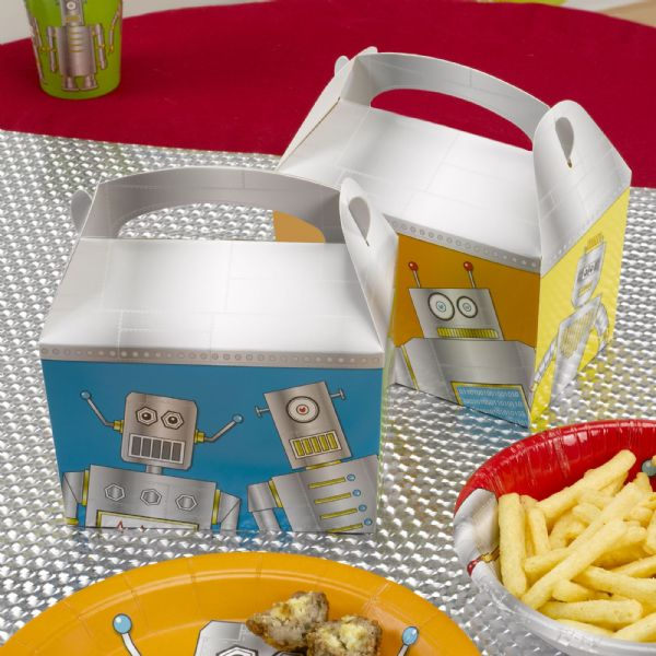 Robot Heroes Lunch Boxes (8)